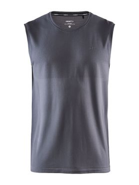 Craft Fuseknit sleeveless sleeve baselayer grey men