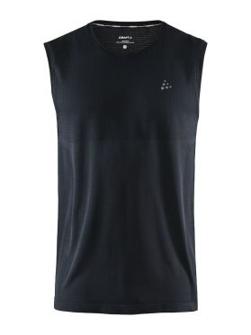 Craft Fuseknit sleeveless sleeve baselayer black men