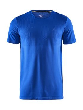 Craft Fuseknit light short sleeve baselayer blue men