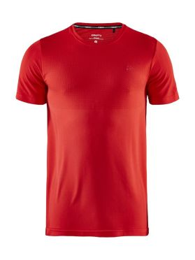 Craft Fuseknit light short sleeve baselayer red men