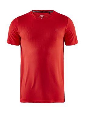Craft Fuseknit light short sleeve baselayer red men