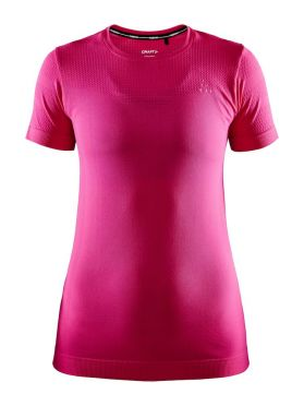 Craft Fuseknit light short sleeve baselayer pink women