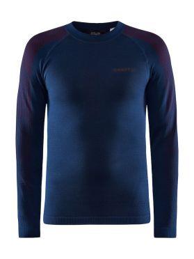 Craft Advanced Warm Fuseknit Intensity baseleyer long sleeve blue men