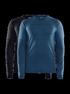 Craft Core Dry baselayer 2-pack long sleeve black/blue men