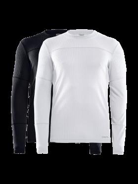 Craft Core Dry baselayer 2-pack long sleeve black/white men