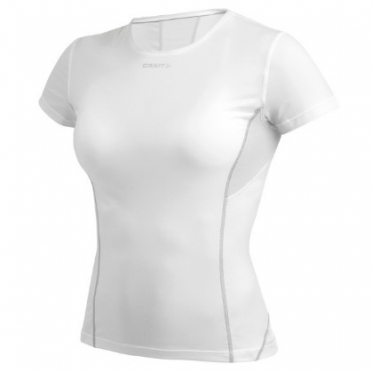 Craft Stay cool mesh short sleeve baselayer white women