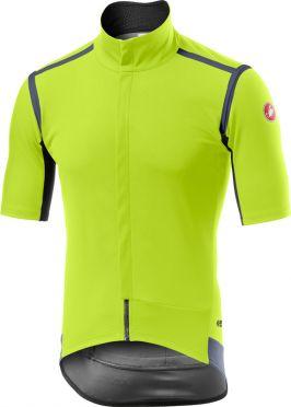 Castelli Gabba RoS short sleeve jersey yellow men