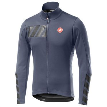 Castelli Raddoppia 2 jacket dark steel blue men