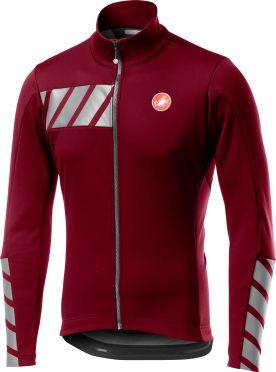 Castelli Raddoppia 2 jacket red/purple men