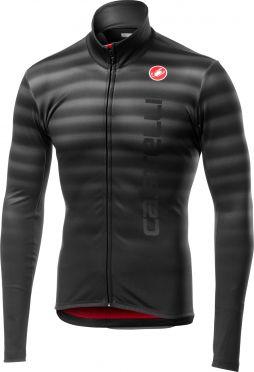 Castelli Scossa FZ long sleeve jersey black men