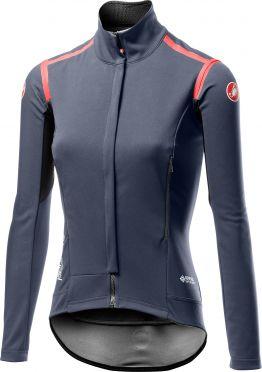 Castelli Perfetto RoS long sleeve jacket dark steel blue women