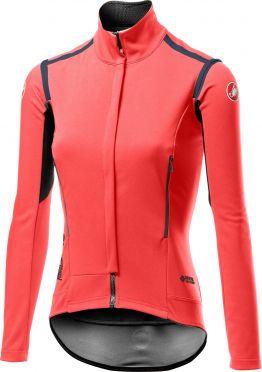 Castelli Perfetto RoS long sleeve jacket pink women