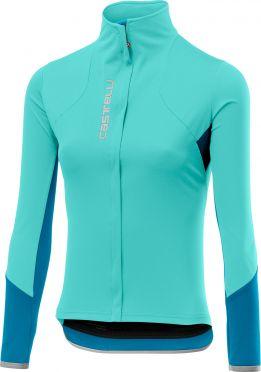 Castelli Trasparente 4 jersey FZ blue women