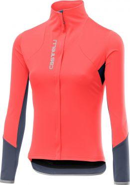 Castelli Trasparente 4 jersey FZ pink women