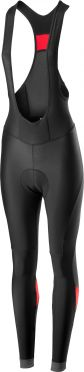 Castelli Velocissima bibtight black/red women