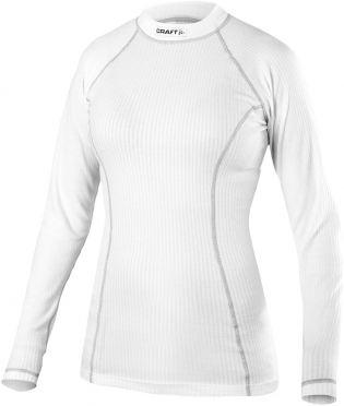 Craft Active Long Sleeve baselayer white women 199895