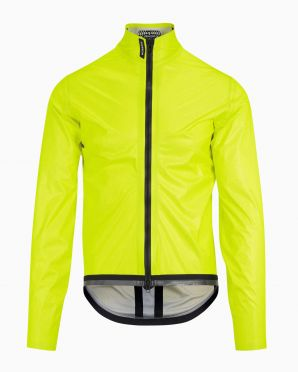Assos Equipe RS Schlosshund rain jacket Fluo yellow