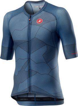 Castelli Climber's 3.0 short sleeve jersey blue men