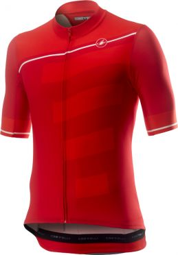 Castelli Trofeo short sleeve jersey red men