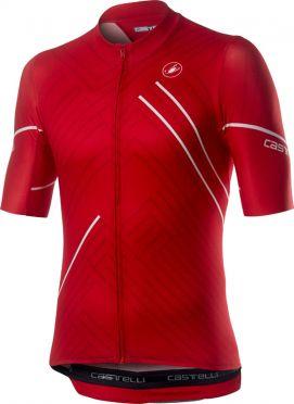 Castelli Passo short sleeve jersey red men