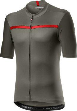 Castelli Unlimited short sleeve jersey green men