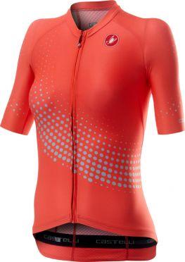 Castelli Aero pro W short sleeve jersey pink women
