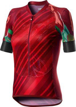 Castelli Climber's W short sleeve jersey red women