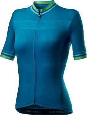 Castelli Promessa 3 short sleeve jersey blue women
