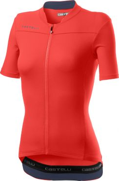Castelli Anima 3 short sleeve jersey pink women