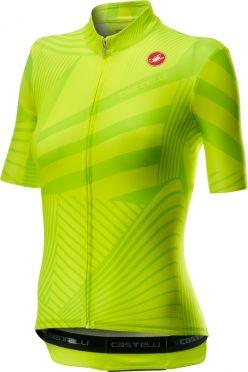 Castelli Sublime short sleeve jersey yellow women