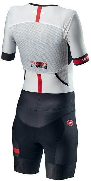 Castelli Free Sanremo 2 W trisuit short sleeve white/black women