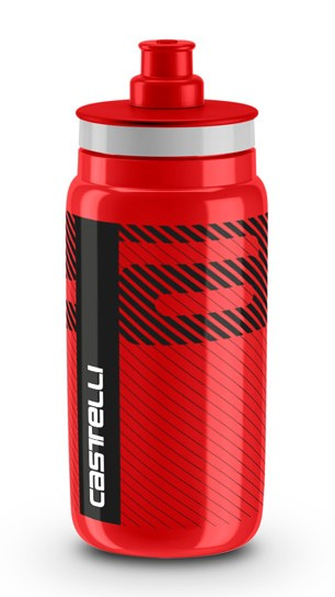 Castelli water bottle 550ml red