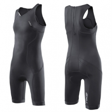 2XU Active tri suit youth girls 2014 CT2722d BLK
