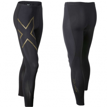 2XU Elite MCS Compression Tights men black/gold