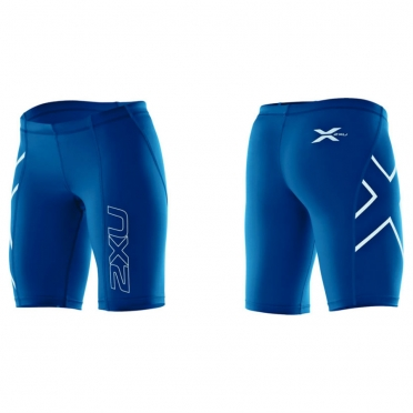 2XU compression short blue women
