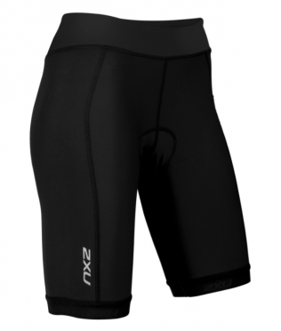 "2XU Active Tri short 7.5"" black women"