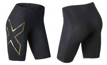 2XU Elite MCS Compression short black/gold women