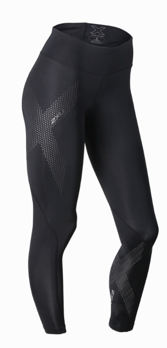 2XU Mid-rise compression tights black women