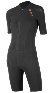 2XU Project X tri suit black/gold women