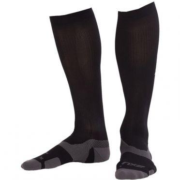 2XU Vectr merino LC Full Lenght compression high socks black