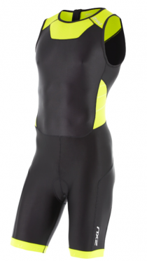2XU X-vent Trisuit Rear Zip black/yellow men