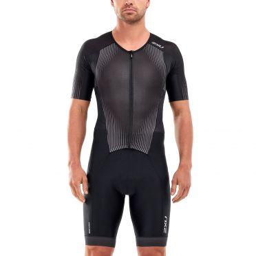 2XU Perform short sleeve trisuit black men