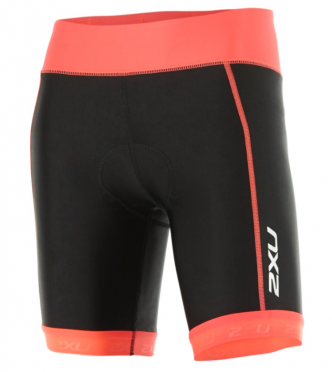 "2XU X-vent 7"" Tri short black/orange women"