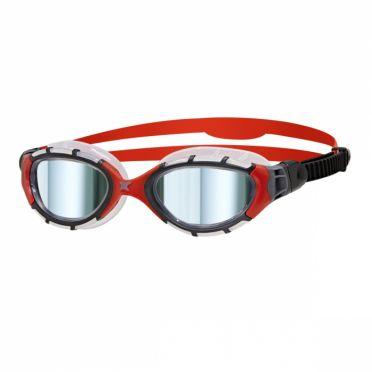 Zoggs Predator flex titanium red/black