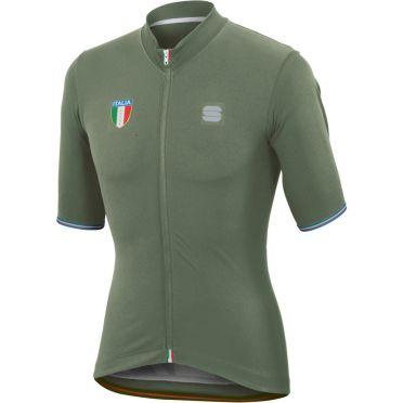 Sportful Italia CL jersey green men