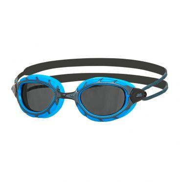 Zoggs Predator dark lens goggles blue