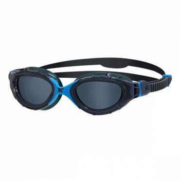 Zoggs Predator flex  dark lens goggles blue