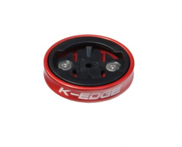 K-Edge Garmin gravity top cap mount red