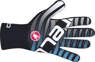 Castelli Diluvio c glove black/blue men