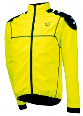 Agu Bocco cycling jacket yellow (fluo) men